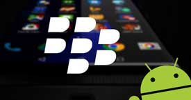BlackBerry'den Android'li telefon