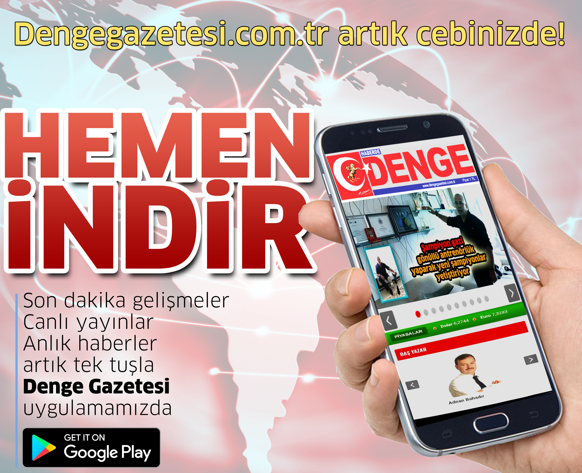 Dengegazetesi.com.tr Artık Cebinizde