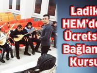 Ladik HEM'den Bağlama Kursu